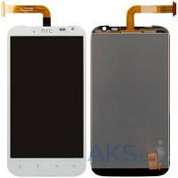 Дисплей (экраны) для телефона HTC Sensation XL X315e G21 + Touchscreen White