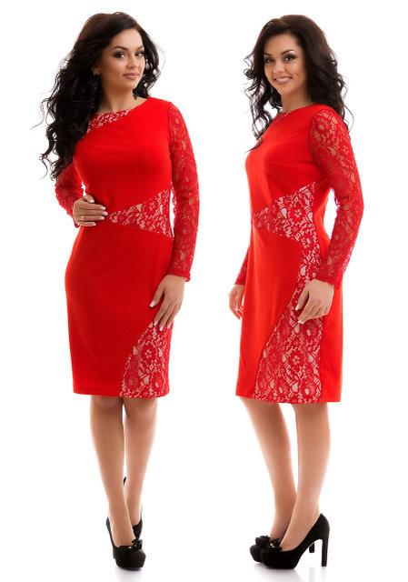 Платья с гипюром большой размер