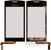 Сенсор (тачскрин) для Nokia 500 Black