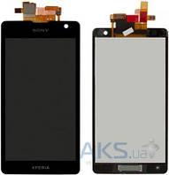 Дисплей (экран) для телефона Sony Xperia TX LT29i + Touchscreen