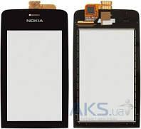 Сенсор (тачскрин) для Nokia Asha 308, Asha 309, Asha 310 Original Black