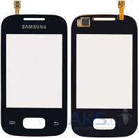 Сенсор (тачскрин) для Samsung Galaxy Pocket S5300, Galaxy Pocket Duos S5302 Original Black