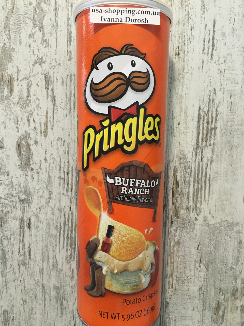 Чипсы PRINGLES со вкусом баффало-ренч