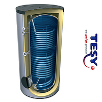 Водонагреватель косвенного нагрева с 2-мя змеевиками TESY 300л 1,21/0,85 кв.м. (EV10/7S2 300 65 F41 TP2)