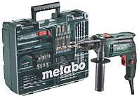 Дрель ударная SBE 650 БЗП Mobile Workshop , Metabo