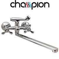 Смеситель для ванны длинный нос Champion Vilta Euro (Chr-143)