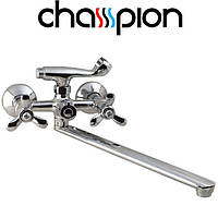 Смеситель для ванны длинный нос Champion Vilta Euro (Chr-140)