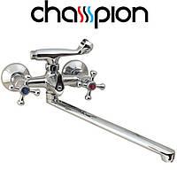 Смеситель для ванны длинный нос Champion Smes (Chr-150)