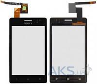Сенсор (тачскрин) для Sony Xperia Go ST27i Black