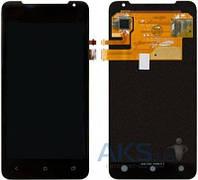 Дисплей (экран) для телефона HTC One J Z321e + Touchscreen Original Black