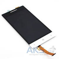 Дисплей (экраны) для телефона HTC Windows Phone 8S A620e + Touchscreen White