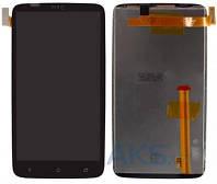 Дисплей (экран) для телефона HTC One X S720e G23, One XL X325 + Touchscreen Black