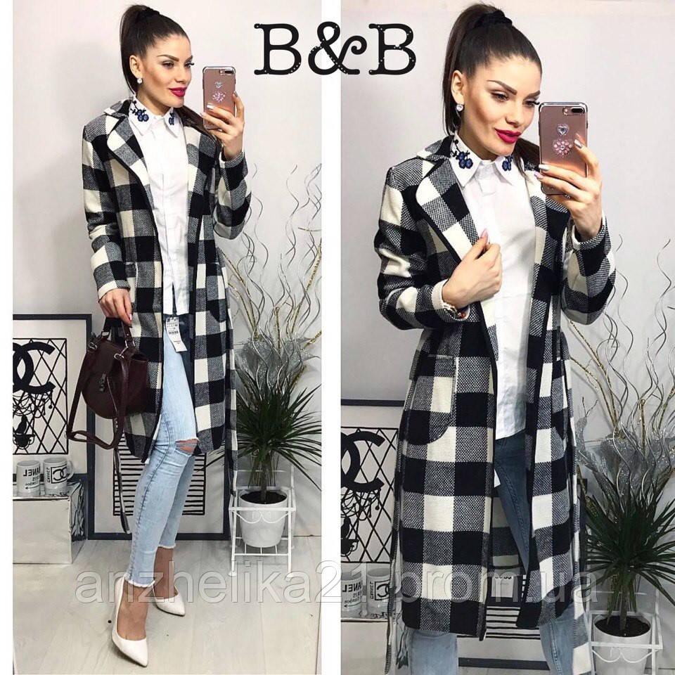 Демисезонное женское пальто без подкладки f89a9233327cb
