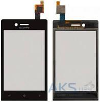 Сенсор (тачскрин) для Sony Xperia Miro ST23i Original Black