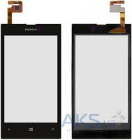Сенсор (тачскрин) для Nokia Lumia 520, Lumia 525 Black