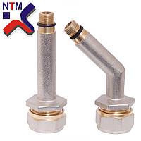 Муфты для подключения смесителя к Металлопластиковой трубе S16*М10 (неразборной)