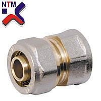 Муфта с внутренней резьбой для Металлопластиковой трубы S16*1/2В (неразборной)