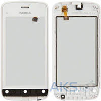 Сенсор (тачскрин) для Nokia C5-03, C5-06 with frame Original White