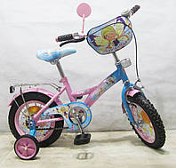 Велосипед TILLY Чарівниця 12 T-21223 pink + blue