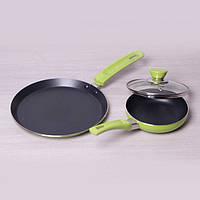 Набор сковородок с антипригарным покрытием 14см и 22см