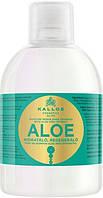 """Kallos ALOE Шампунь увлажняющий для восстановления блеска сухих и поврежденных волос """"Алоэ Вера"""""""