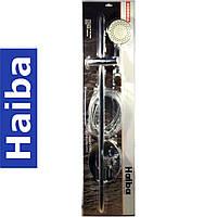 Душевая стойка с мыльницей, со шлангом и лейкой HAIBA 8008
