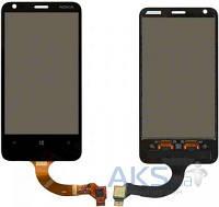 Сенсор (тачскрин) для Nokia Lumia 620 Black