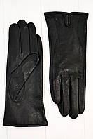 Кожаные женские перчатки Shust gloves Средние