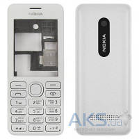 Корпус Nokia 206 Asha с клавиатурой White