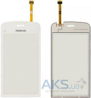 Сенсор (тачскрин) для Nokia C5-03, C5-06 Original White