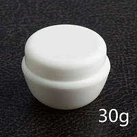 Баночка для крема с крышкой и защитным диском 30 мл