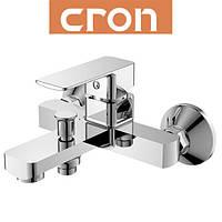 Смеситель для ванны короткий нос Cron Kubus Euro (Chr-009)