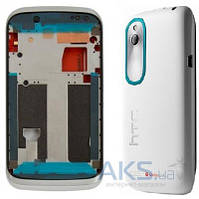 Корпус HTC Desire V T328w White/Blue
