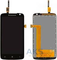 Дисплей (экран) для телефона Lenovo S820 + Touchscreen Original