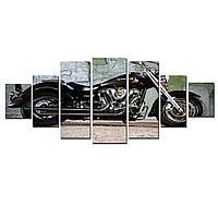 Модульные Светящиеся картины Startonight Железный конь , 7 частей