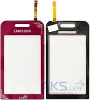 Сенсор (тачскрин) для Samsung Star S5230 Original LaFleur
