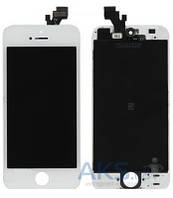 Дисплей (экраны) для телефона Apple iPhone 5S + Touchscreen Original White