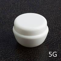 Баночка для крема с крышкой и защитным диском 5 мл