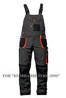 Полукомбинезон рабочий, серо-черный, FORMEN LH-FMN-B_SBP, фото 1