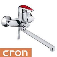 Смеситель для ванны длинный нос Cron Magic Red (Chr-006)