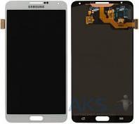 Дисплей (экран) для телефона Samsung Galaxy Note 3 N900, Galaxy Note 3 N9000, Galaxy Note 3 N9005, Galaxy Note 3 N9006 + Touchscreen Original White