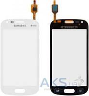 Сенсор (тачскрин) для Samsung Galaxy Trend S7560, Galaxy S Duos S7562 Original White