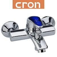 Смеситель для ванны короткий нос Cron Magic Blue (Chr-009)