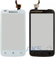 Сенсор (тачскрин) Lenovo A356 Original White
