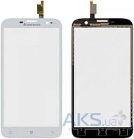 Сенсор (тачскрин) для Lenovo A850 Original White