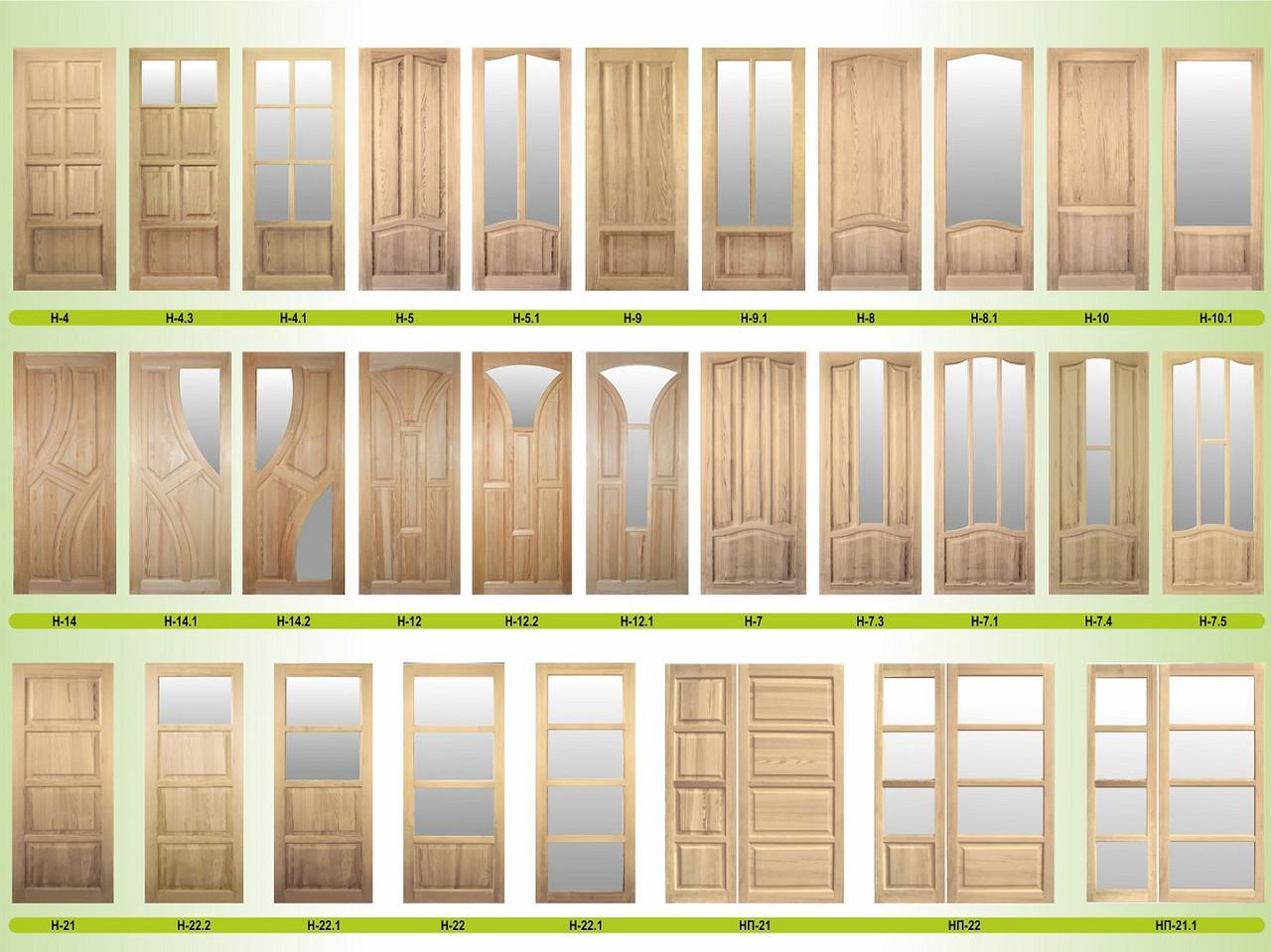 Двери сосновые под заказ