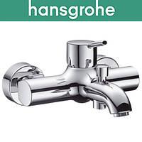 Смеситель Hansgrohe (art 32420000) для ванны короткий нос Talis S