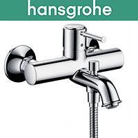 Смеситель Hansgrohe (art 14140000) для ванны короткий нос Talis Classic