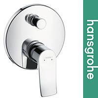 Смеситель Hansgrohe (art 31493000) для ванной встраиваемый Metris