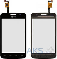 Сенсор (тачскрин) для LG Optimus L4 Dual Sim E445 Original Black